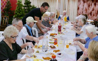Sukkotfeier mit Holocaust-überlebenden