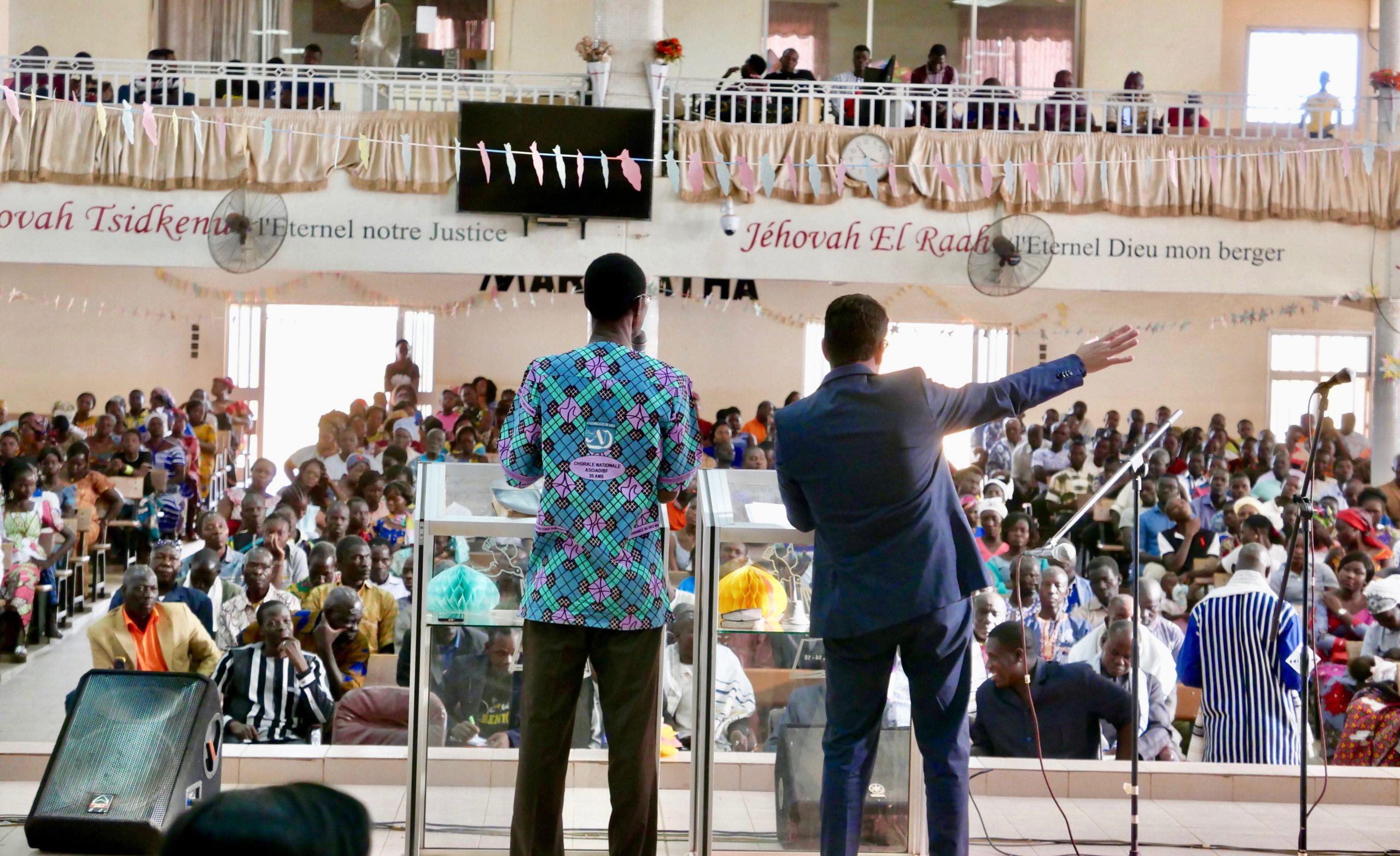 Israel-Predigt in einer Assemblies of God Gemeinde - Ouagadougou