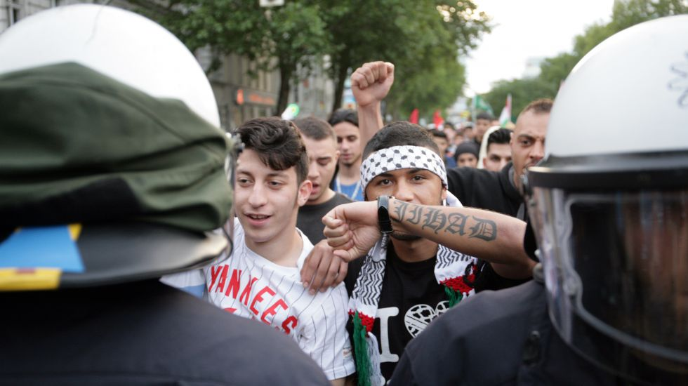 Demonstration in Berlin